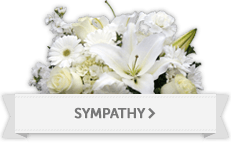 Sympathy and funeral flower arrangement