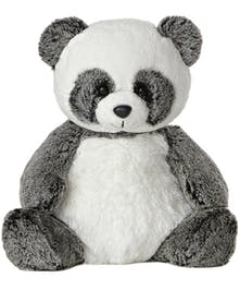 Soft tones of black and white panda bear