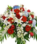Glory Casket Flowers