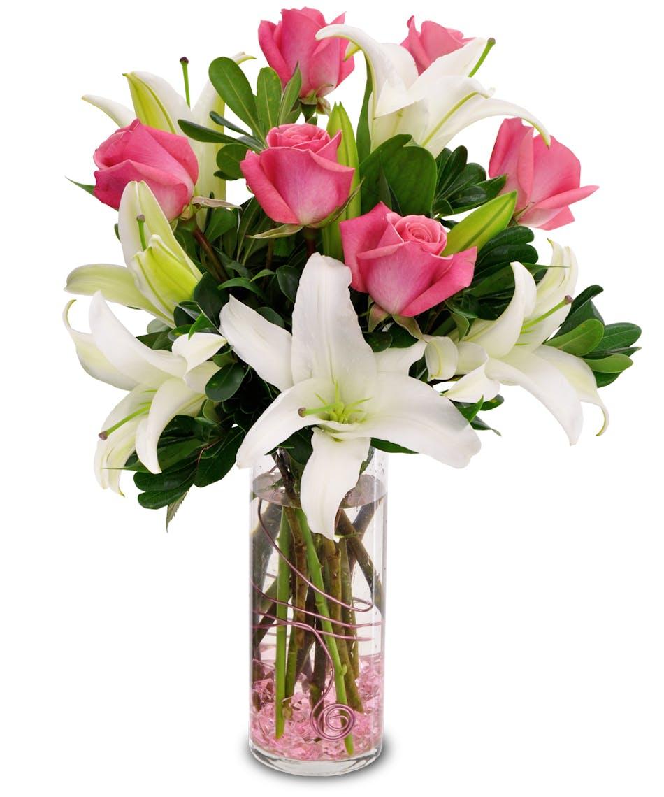 Pink Cloud Roses Bagoys Florist Home Anchorage Alaska