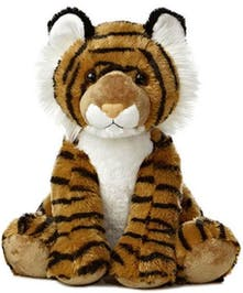 Sitting tiger plushie