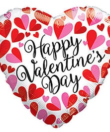 Theme balloon for Valentine's Day