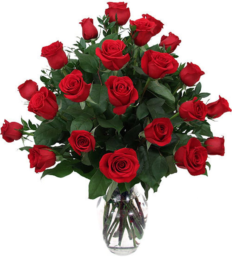 24 Red Roses Roses Bagoy S Florist Amp Home Anchorage