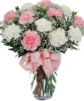 As Shown--18 carnations