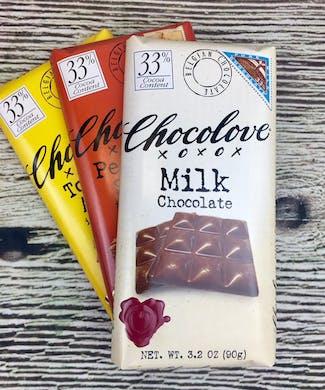 Chocolove Milk Chocolate Bars