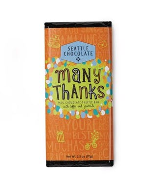 Many Thanks Chocolate Bar