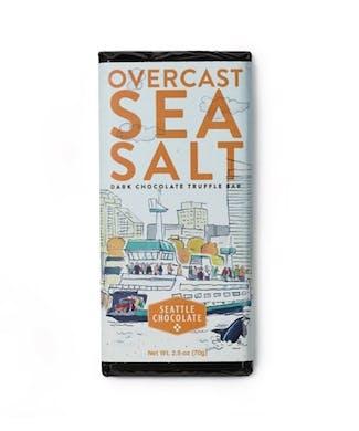 Overcast Sea Salt Chocolate Bar