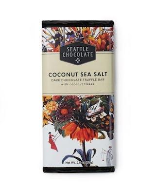 Coconut Sea Salt Chocolate Bar